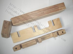 Electrical laminated beech wood for transformer