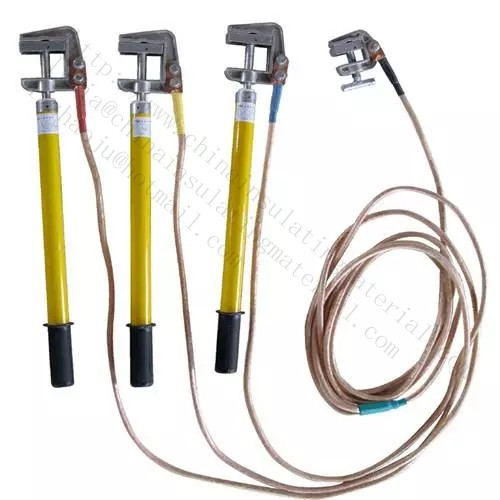 High voltage grounding rod/Earth wire set - china insulation
