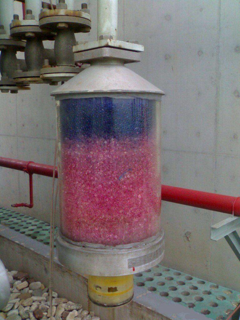 Silica Gel desiccant filter air breather filter