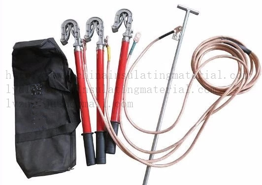 Portable Ground Earth Rod Set with Earthing Wire and Clamp